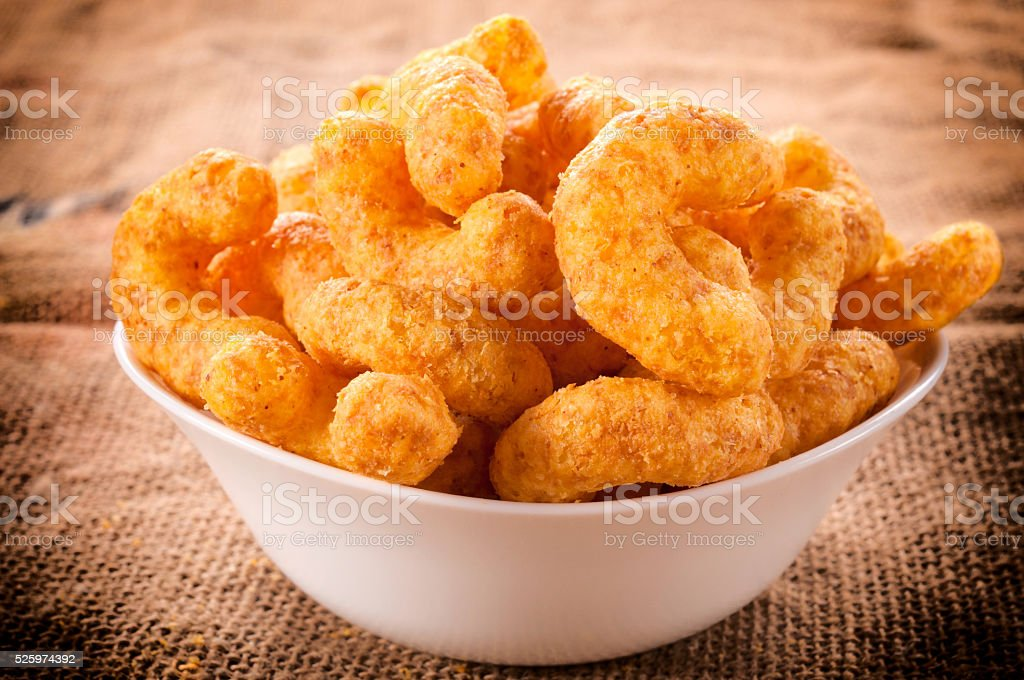Snack cup stock photo