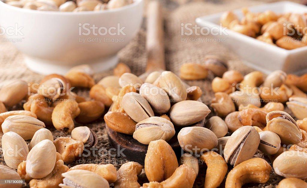 Snack mix royalty-free stock photo