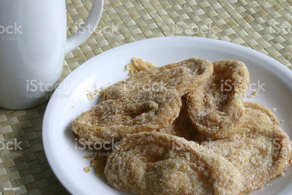 Snack Plate - 2 stock photo