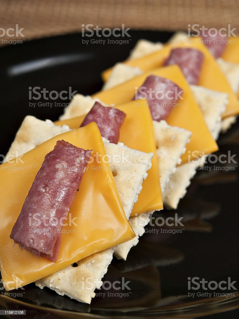 Snack Plate stock photo