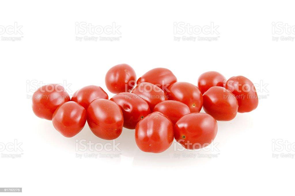 tomatos en-cas photo libre de droits