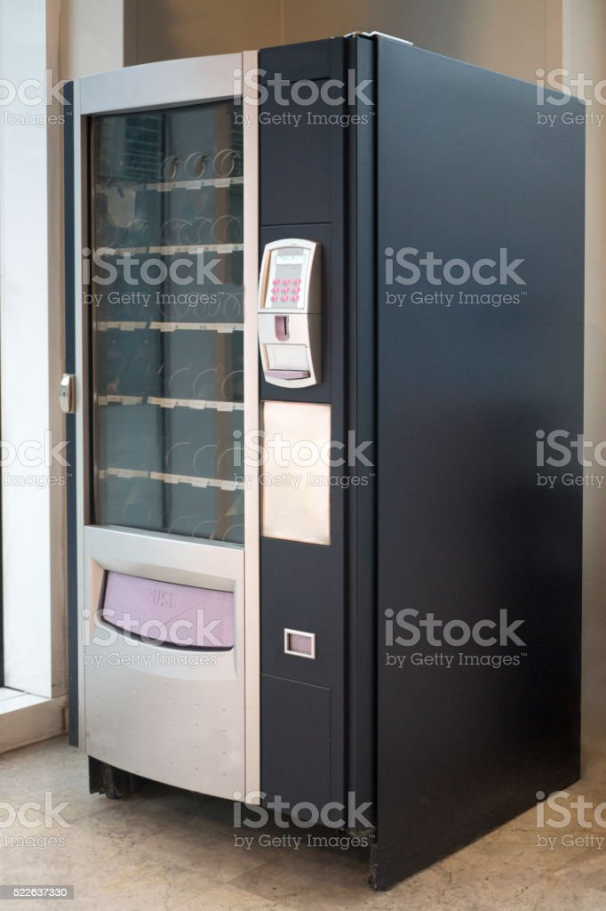 Snack Vending Machine stock photo