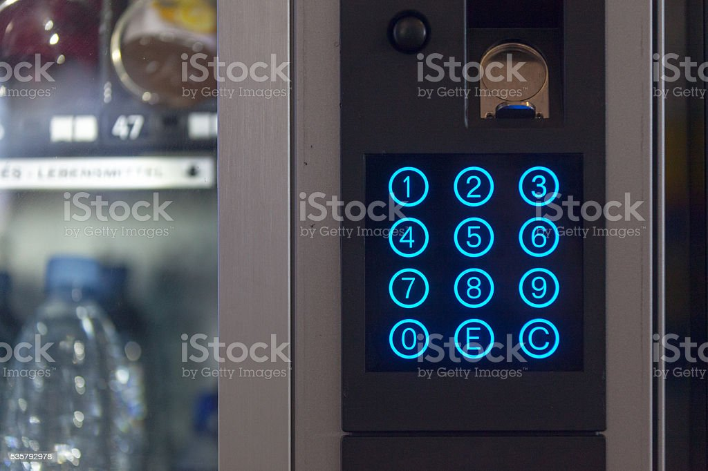 Snack Vending Machine stock photo