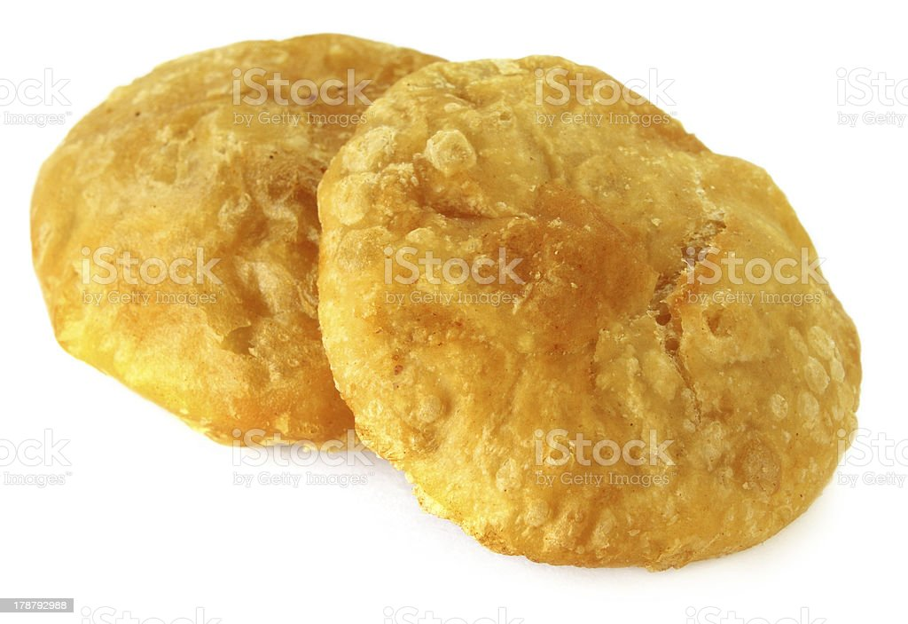 Snacks of flour with lentils named as Dalpuri royalty-free stock photo
