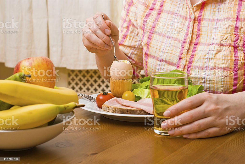 Snacks on Table royalty-free stock photo