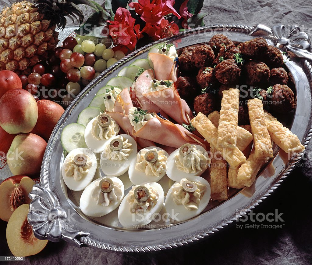 Snacks stock photo