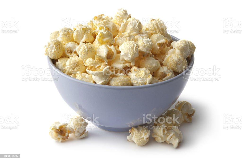 Snacks: Popcorn stock photo