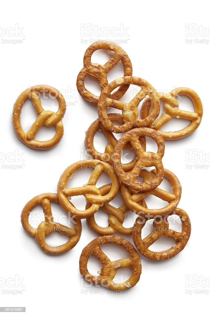 Snacks: Pretzel stock photo