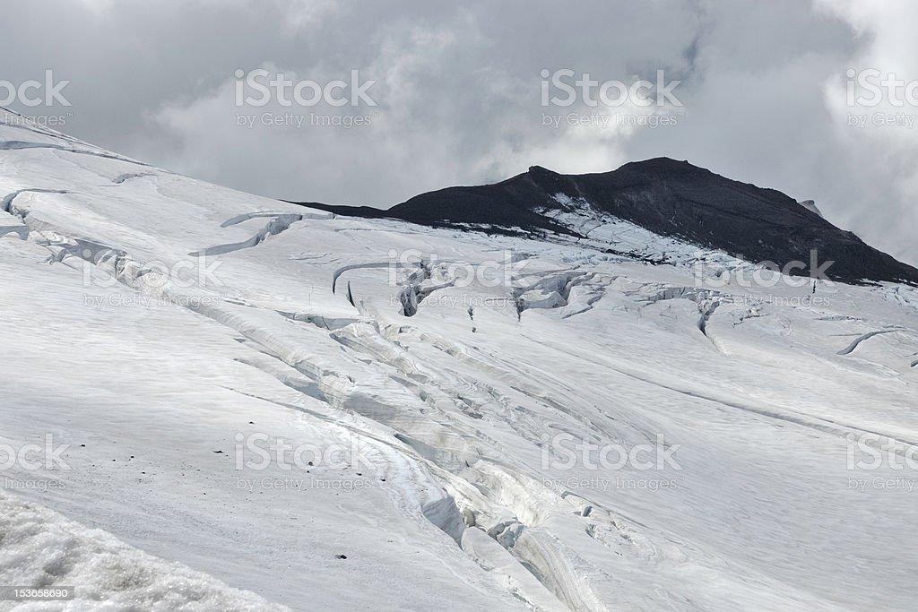 Snaefellsjokull glacier, Iceland royalty-free stock photo