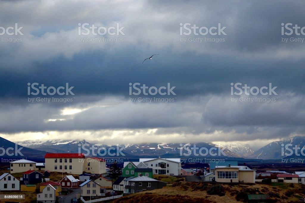 Snaefellsnes, Iceland. stock photo