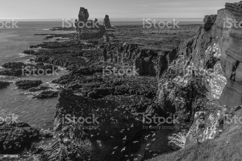 Snaefellsnes, Peninsula, Iceland stock photo