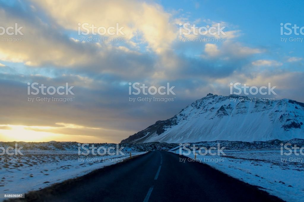 Snaefellsnes peninsula, Iceland. stock photo