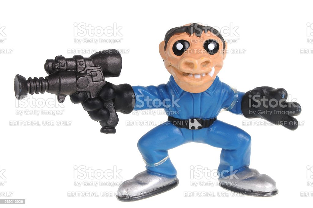 Snaggletooth Galactic Heroes Action Figure stock photo