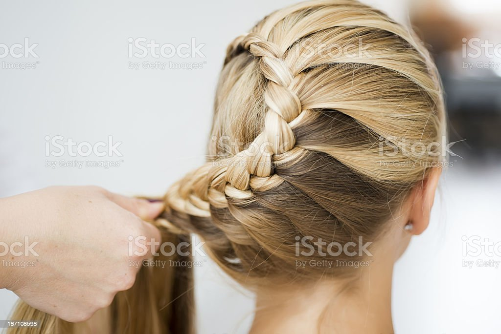 Snail bun stock photo