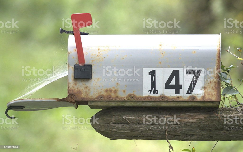 Snail Mail royalty-free stock photo
