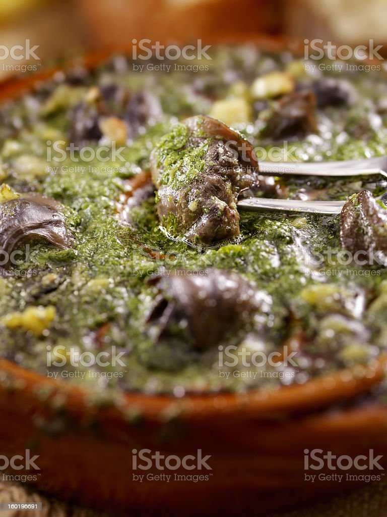 Escargot royalty-free stock photo