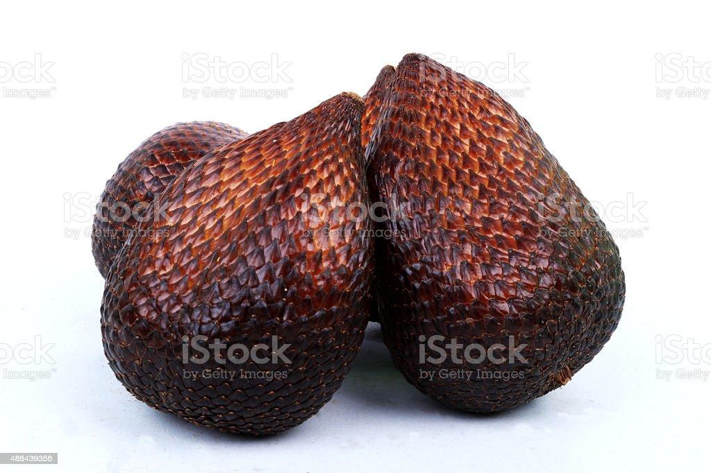 snake fruit stock photo