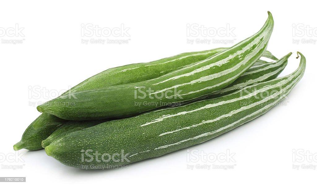 Snake gourd stock photo