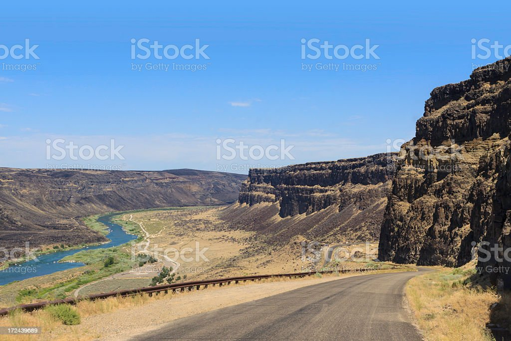 Snake River Canyon royalty-free stock photo