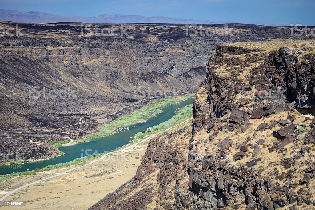 Snake River Canyon royalty-free stock photo