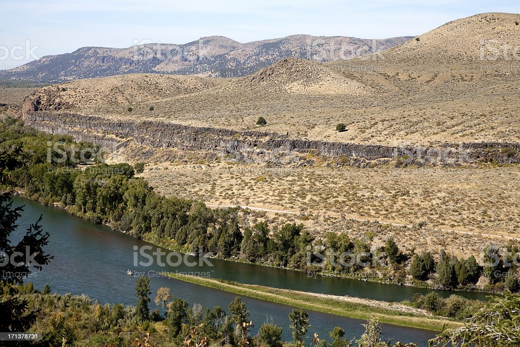 Snake River, Idaho royalty-free stock photo