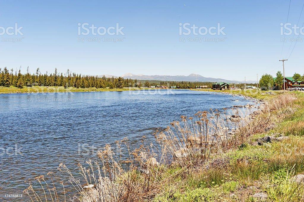 Snake River Idaho royalty-free stock photo