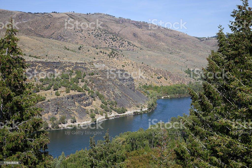 Snake River, Idaho royalty-free stock photo