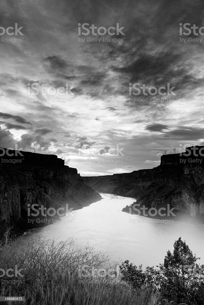 Snake River, Idaho, USA royalty-free stock photo