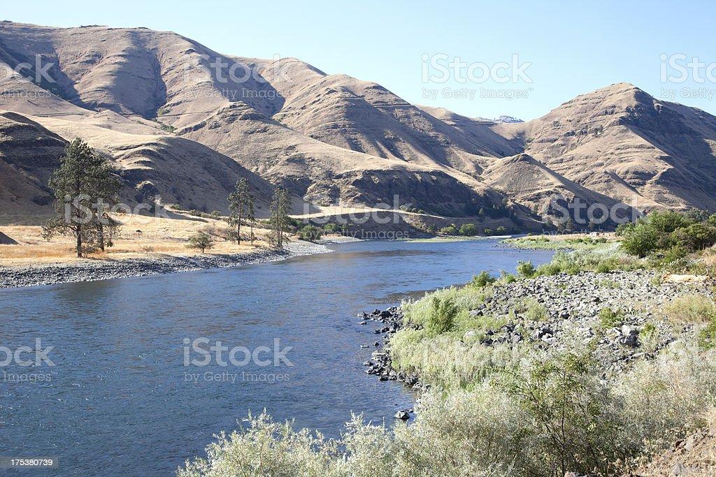 Snake River in Idaho royalty-free stock photo