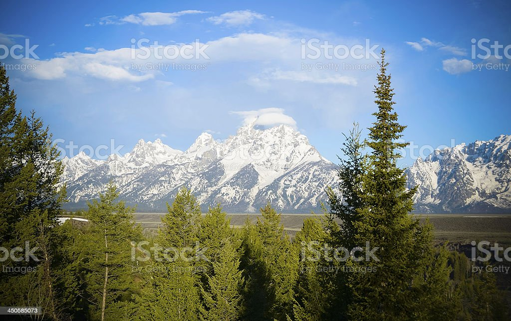 Snake River Overlook, Grand Teton National Park stock photo