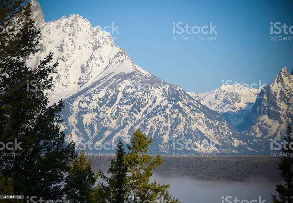 Snake River Overlook, Grand Teton National Park royalty-free stock photo