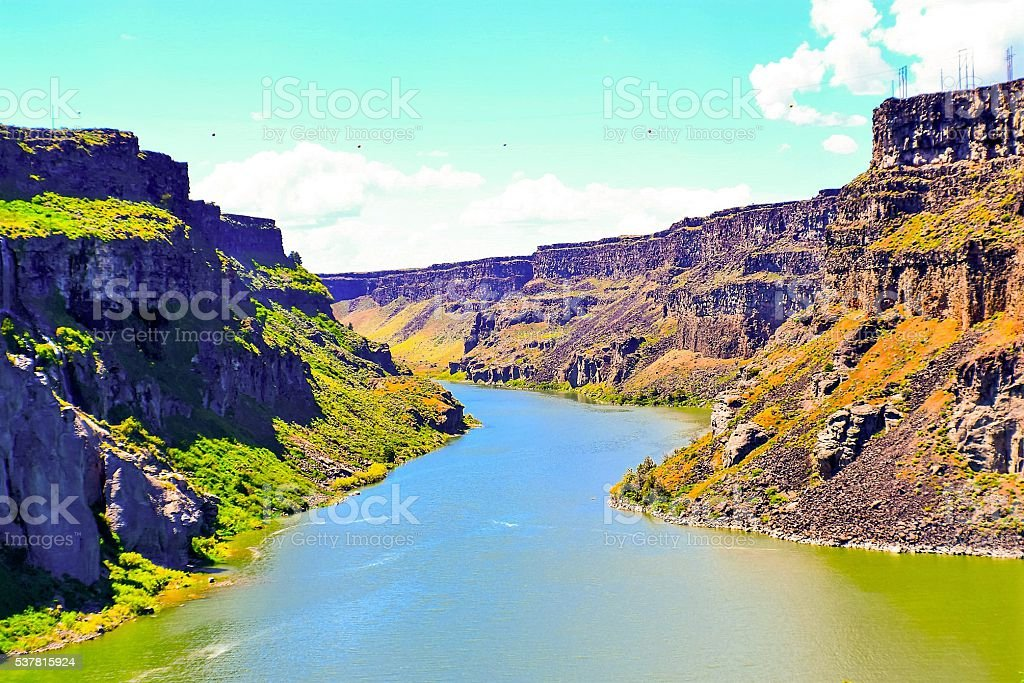 Snake River stock photo
