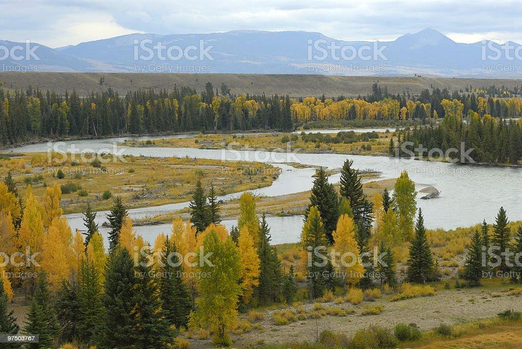 Snake River royalty-free stock photo