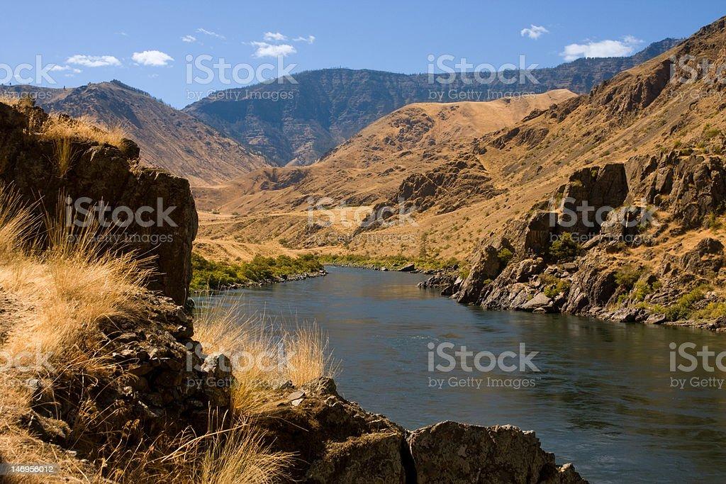 Snake River Summer royalty-free stock photo