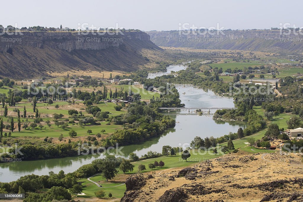 Snake River Valley stock photo