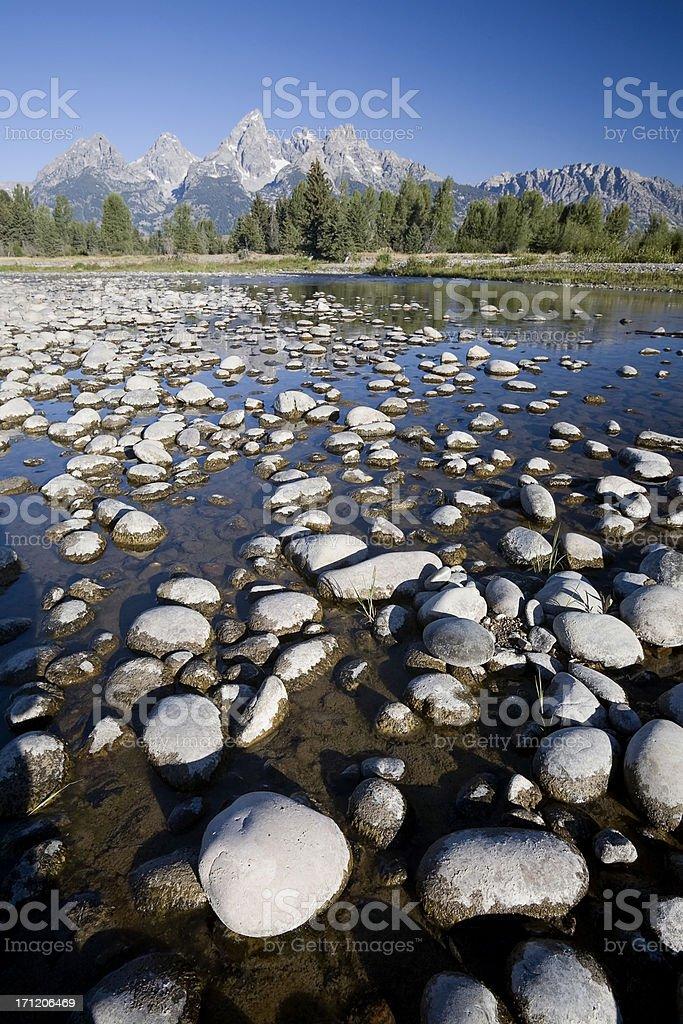 Snake River, Wyoming royalty-free stock photo
