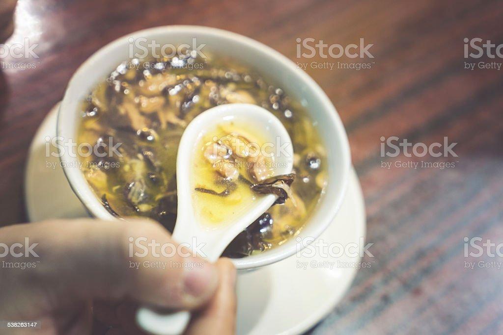 Snake Soup stock photo