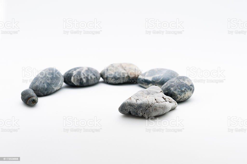 Snake Stone stock photo