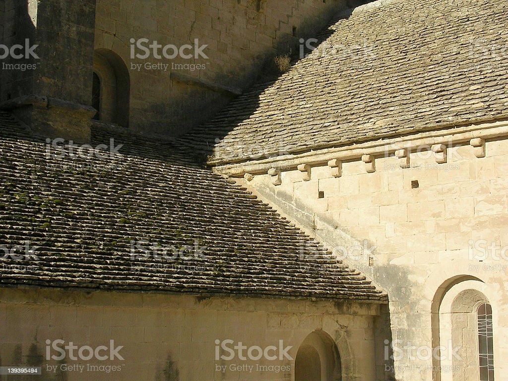 Sénanque Abbey 4 stock photo