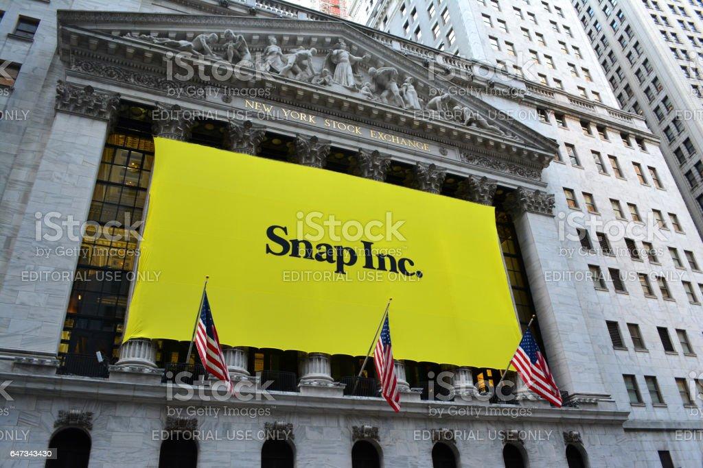 Snap stock photo