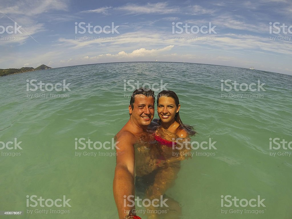 Snapshot In The Water royalty-free stock photo
