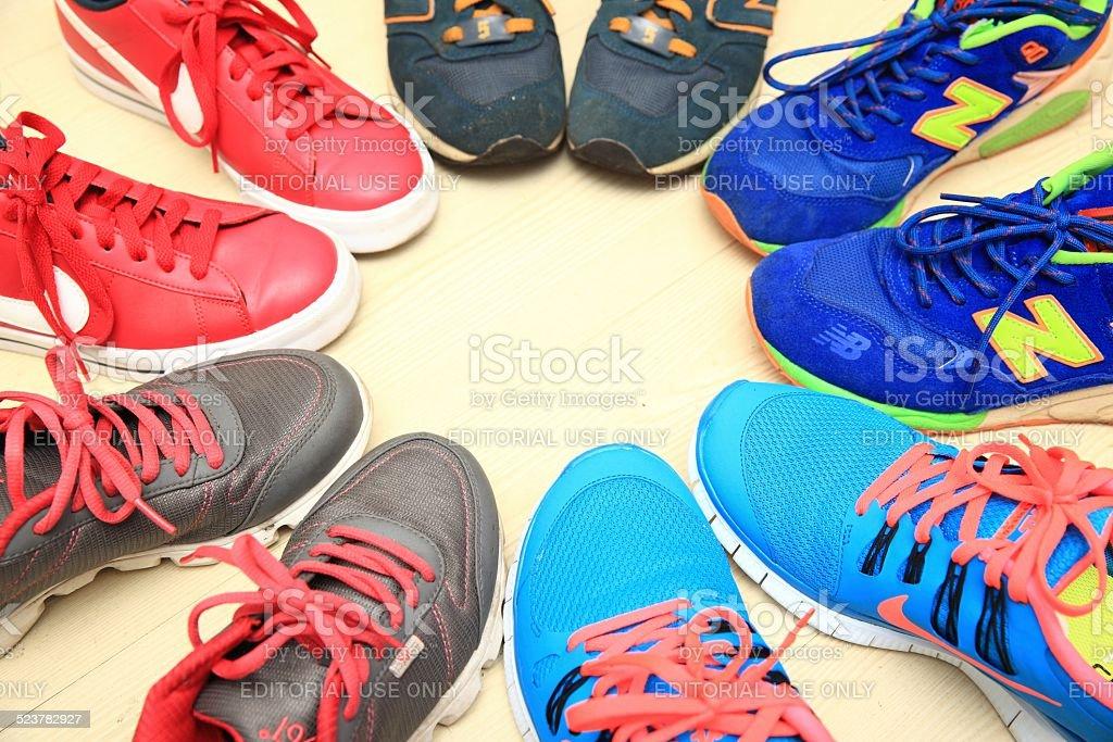 Sneaker Culture stock photo