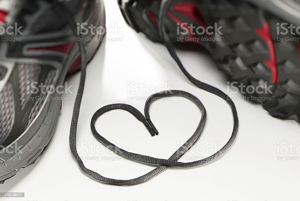 Sneaker Love stock photo