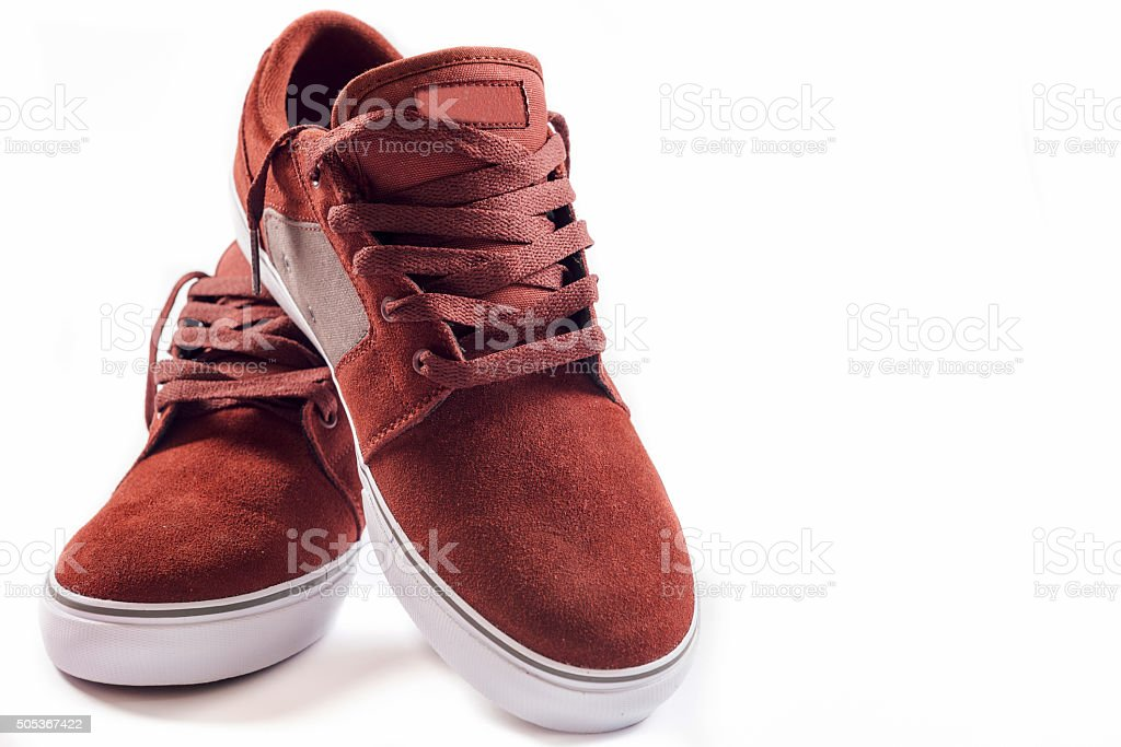 Sneakers isolated stock photo