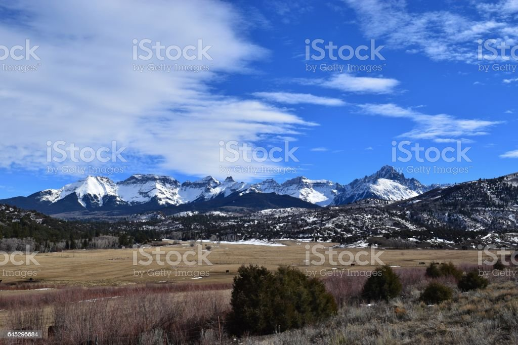 Sneffels Range stock photo