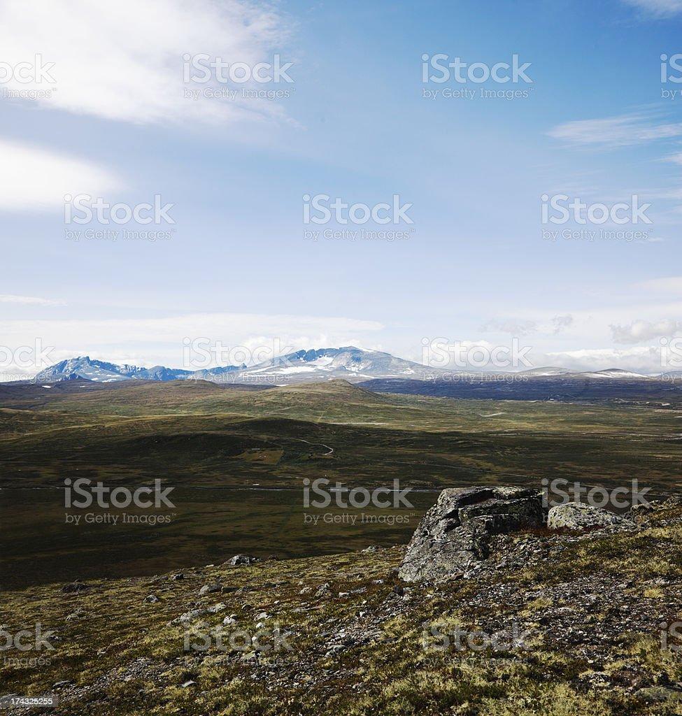 Sn?hetta mountain range. stock photo