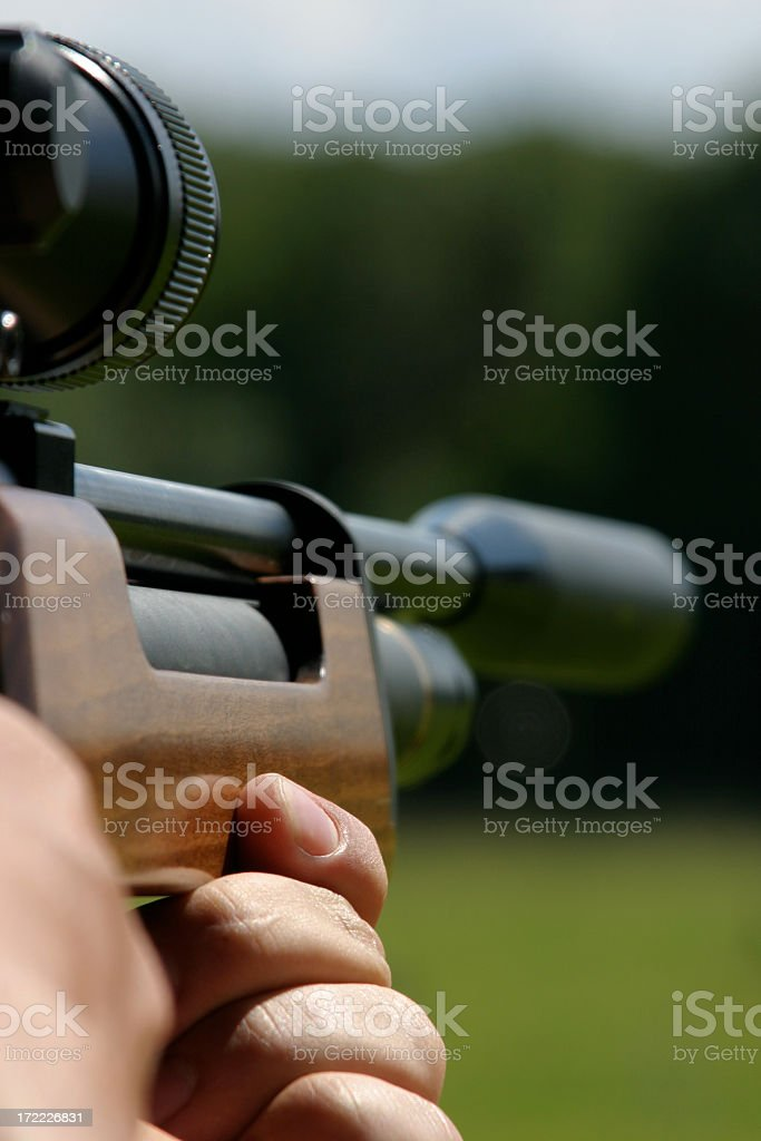 Sniper Rifle royalty-free stock photo