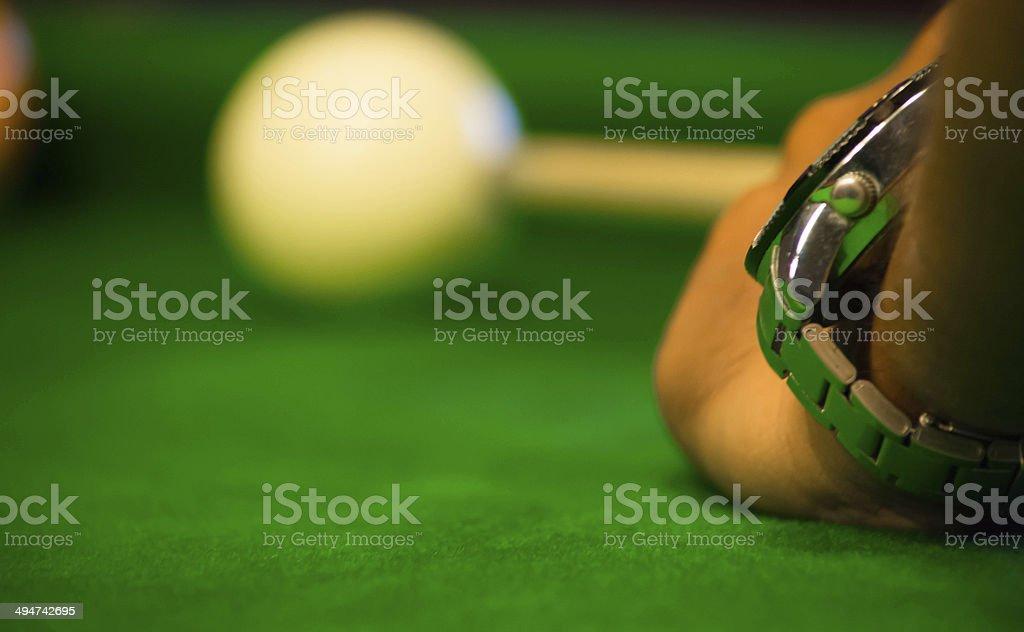 snooker ball/ pool ball stock photo