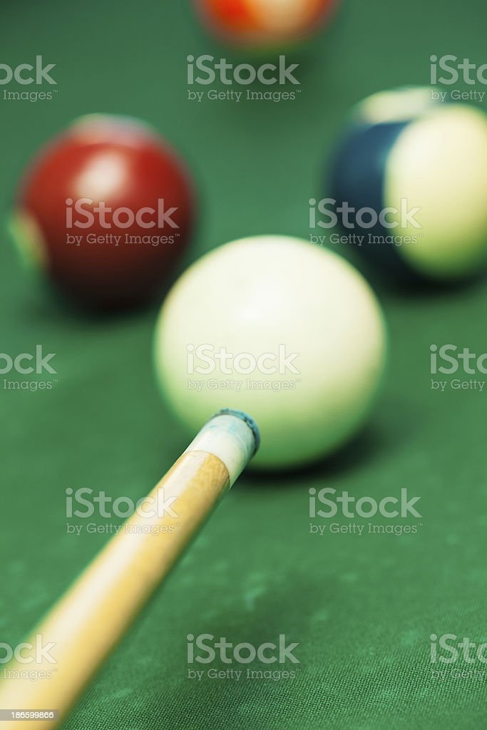Snooker balls royalty-free stock photo