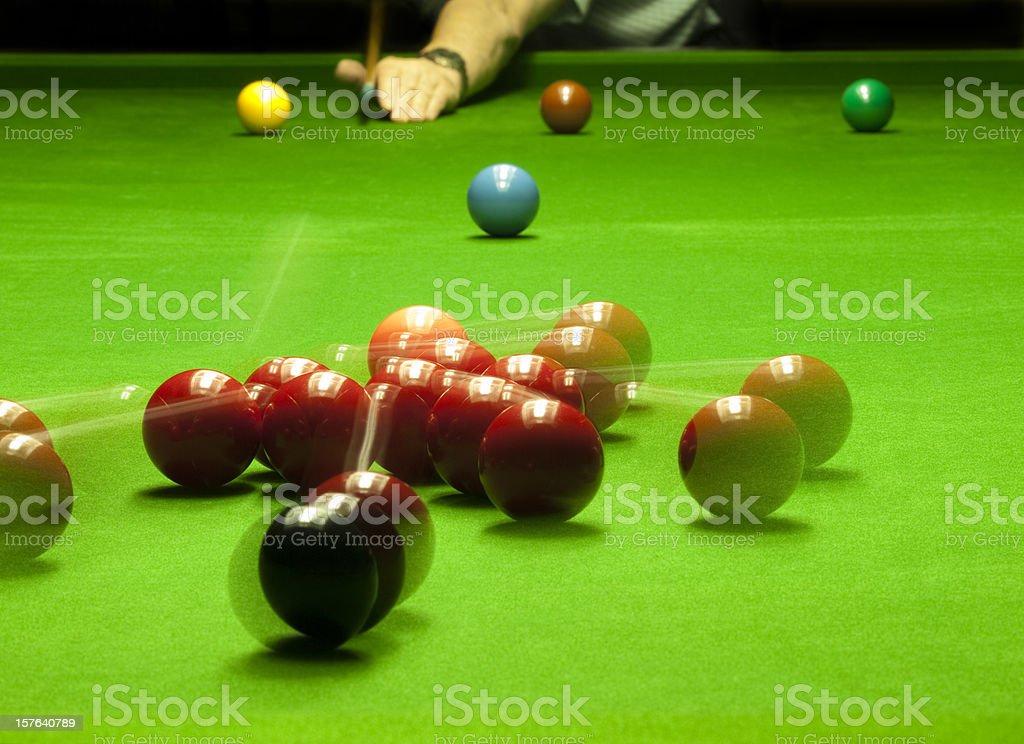 Snooker Break royalty-free stock photo